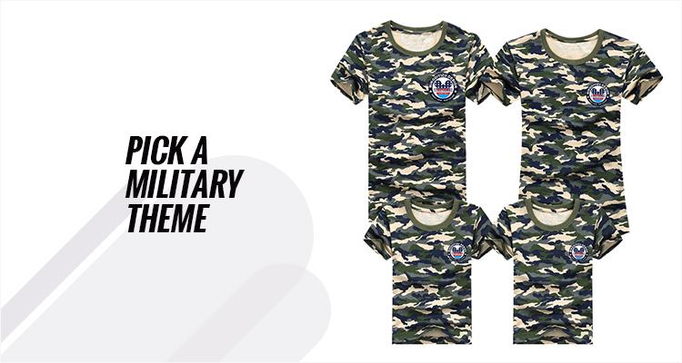 Pick A Military Theme