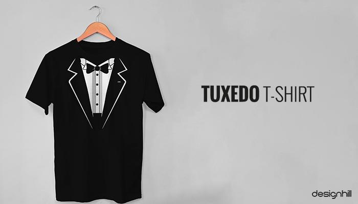 Tuxedo cool T-shirt