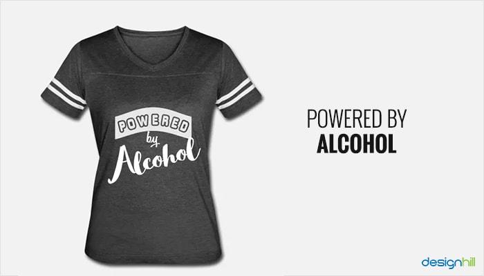 EVOLUTION OF DRINKING MENS T-SHIRT TOP FUNNY PRINTED DESIGN ALCOHOL JOKE SLOGAN