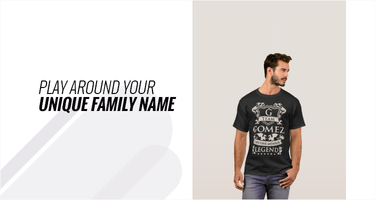 Play Around Your Unique Family Name