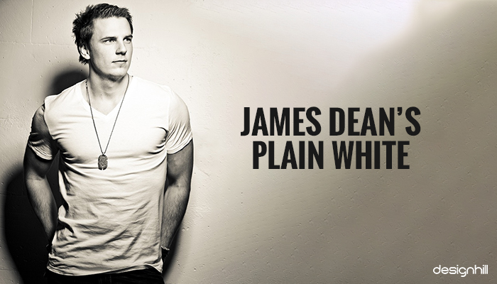 James Dean's Plain White T-Shirt