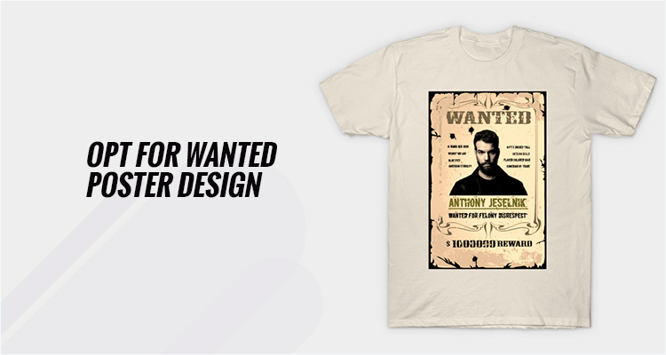 Opt For Wanted Poster Design