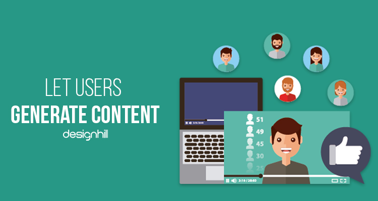 Let Users Generate Content