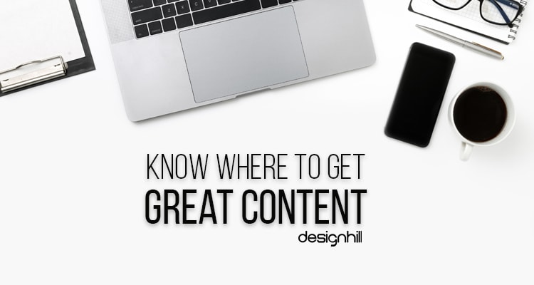 Know Where To Get Great Content