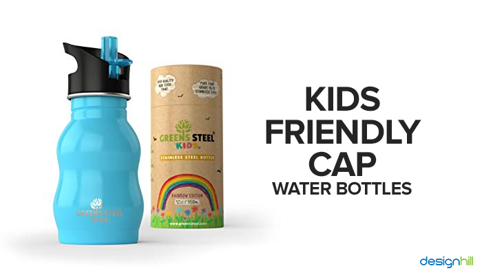 Kids Friendly Cap Water Bottle