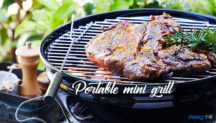 Portable Mini Grill