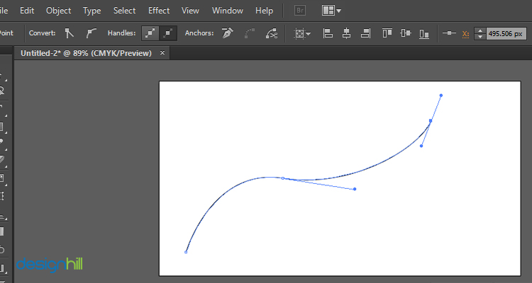 Work With The Bezier Tool