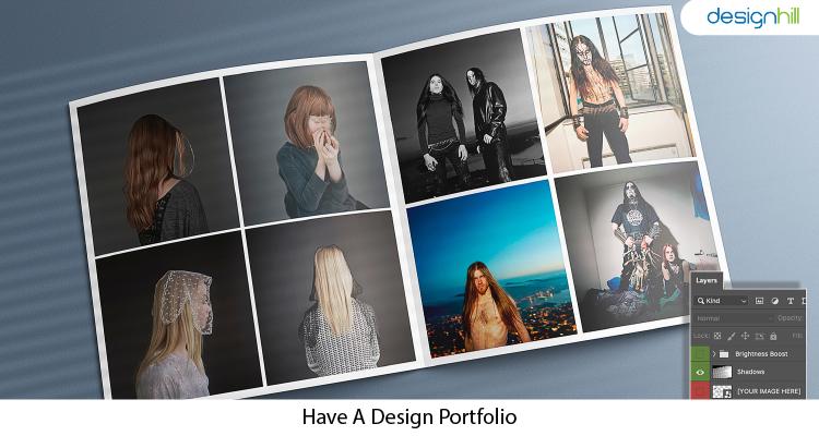 Have A Design Portfolio