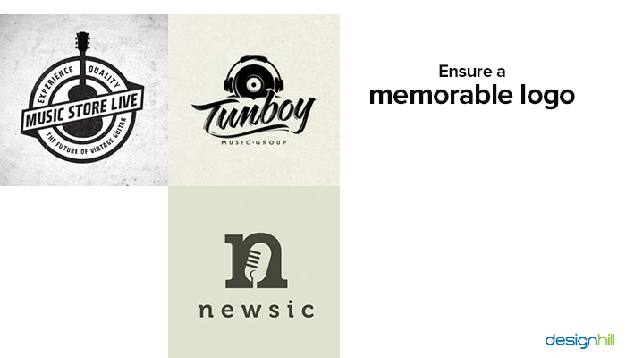 Memorable Music Logo
