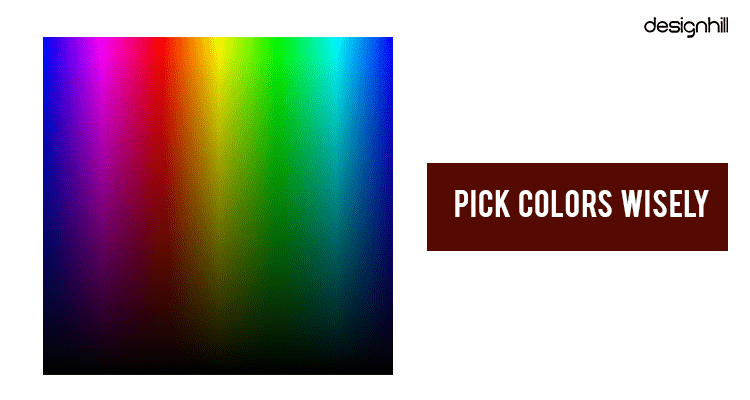 Pick Colors Wisely