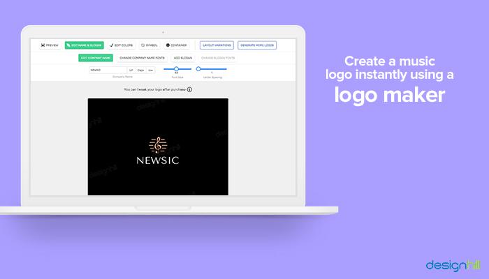 Create a music logo