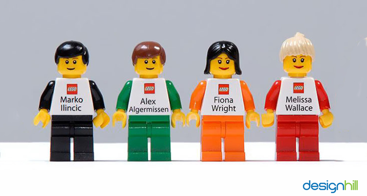 Own Lego Agent Business Card