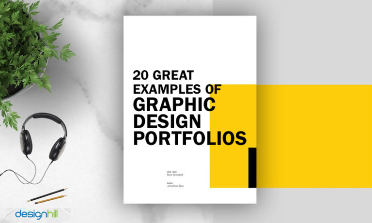 20 Great Examples Of Graphic Design Portfolios