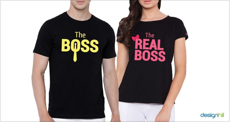 Boss Couple T-Shirt