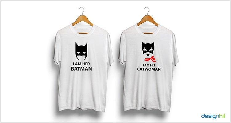 61b5c434 Catwoman And Batman Couple T Shirt