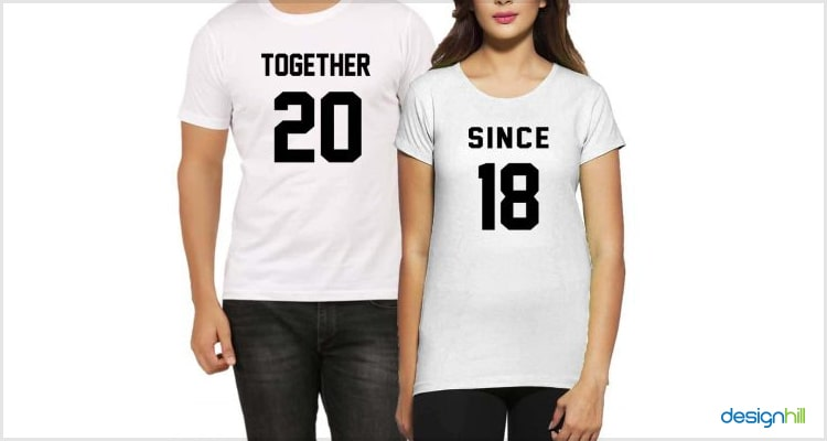 Together Since Couple T Shirt