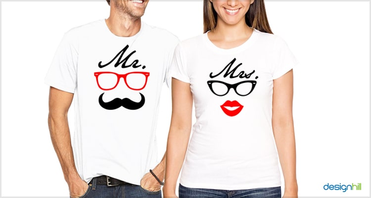 Mr And Mrs. Couple T Shirt