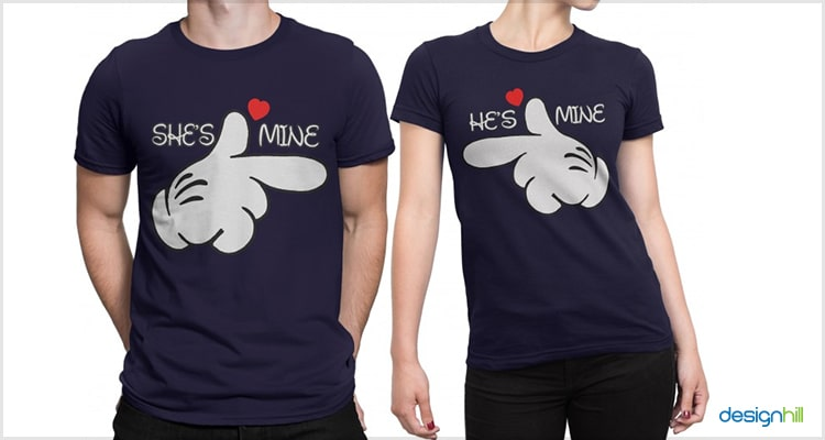 Mine Couple T Shirts