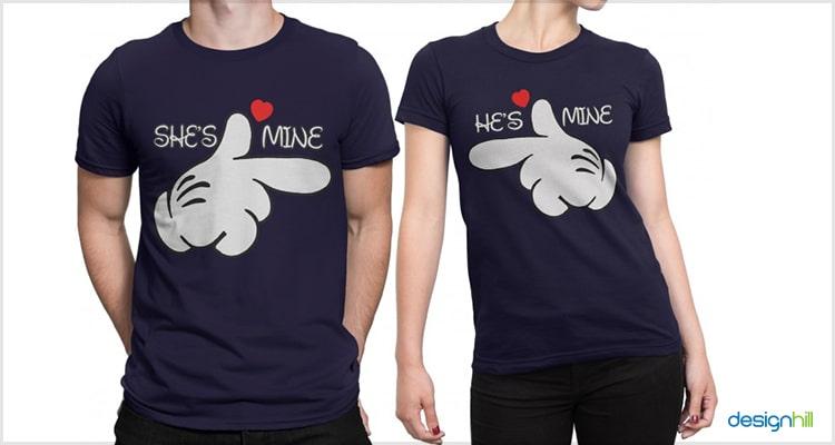 9c2dea8066 Best 25 Couple T-Shirt Ideas