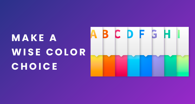 Make A Wise Color Choice