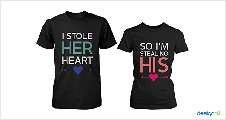 His And Her Couple T Shirt