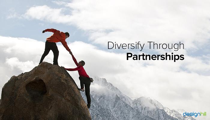 Diversify Through Partnerships