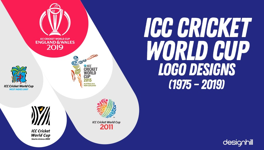 df006cb3c ICC Cricket World Cup Logo Designs (1975 – 2019)