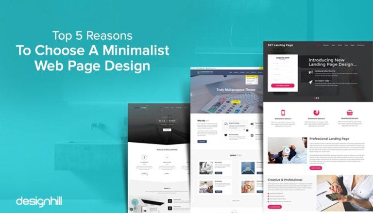 Minimalist Web Page Design