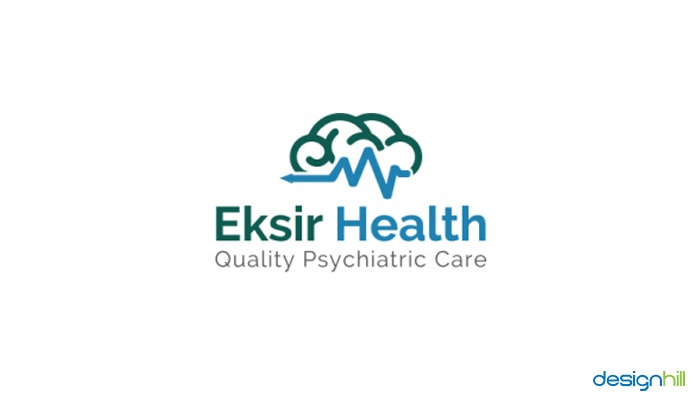 Eksir Health Wellness Logo Idea