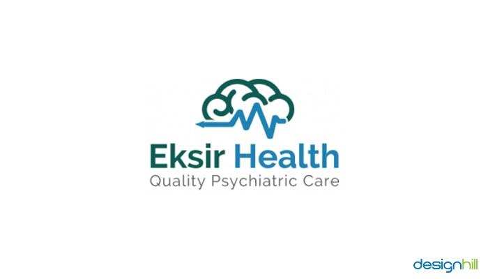 Eksir Health Wellness Logo Idea