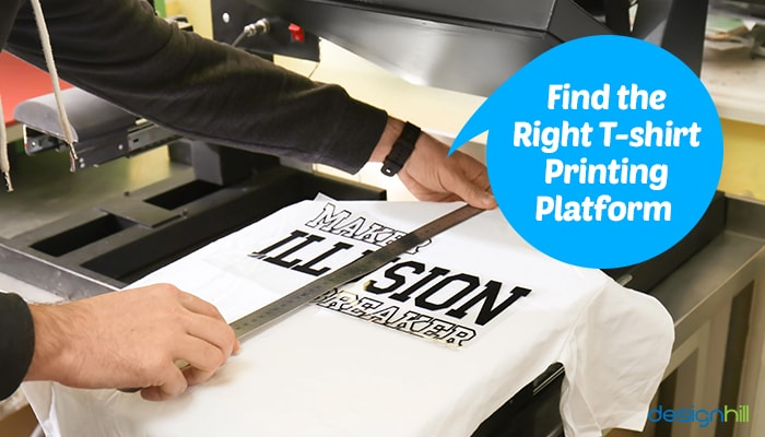 T-Shirt Printing Platform