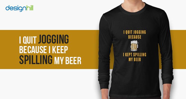 spilling my Beer