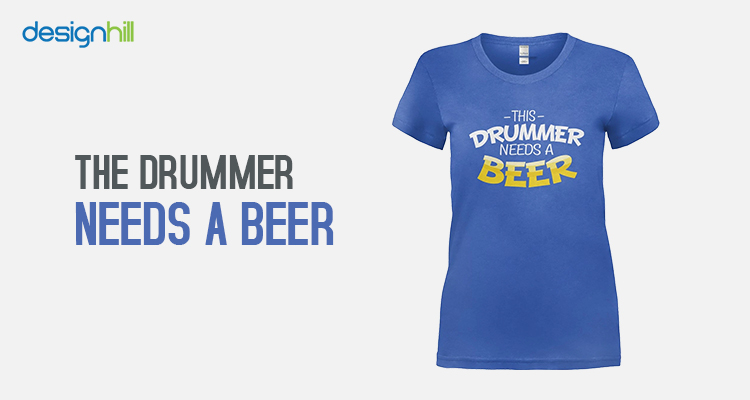 The Drummer Needs A Beer