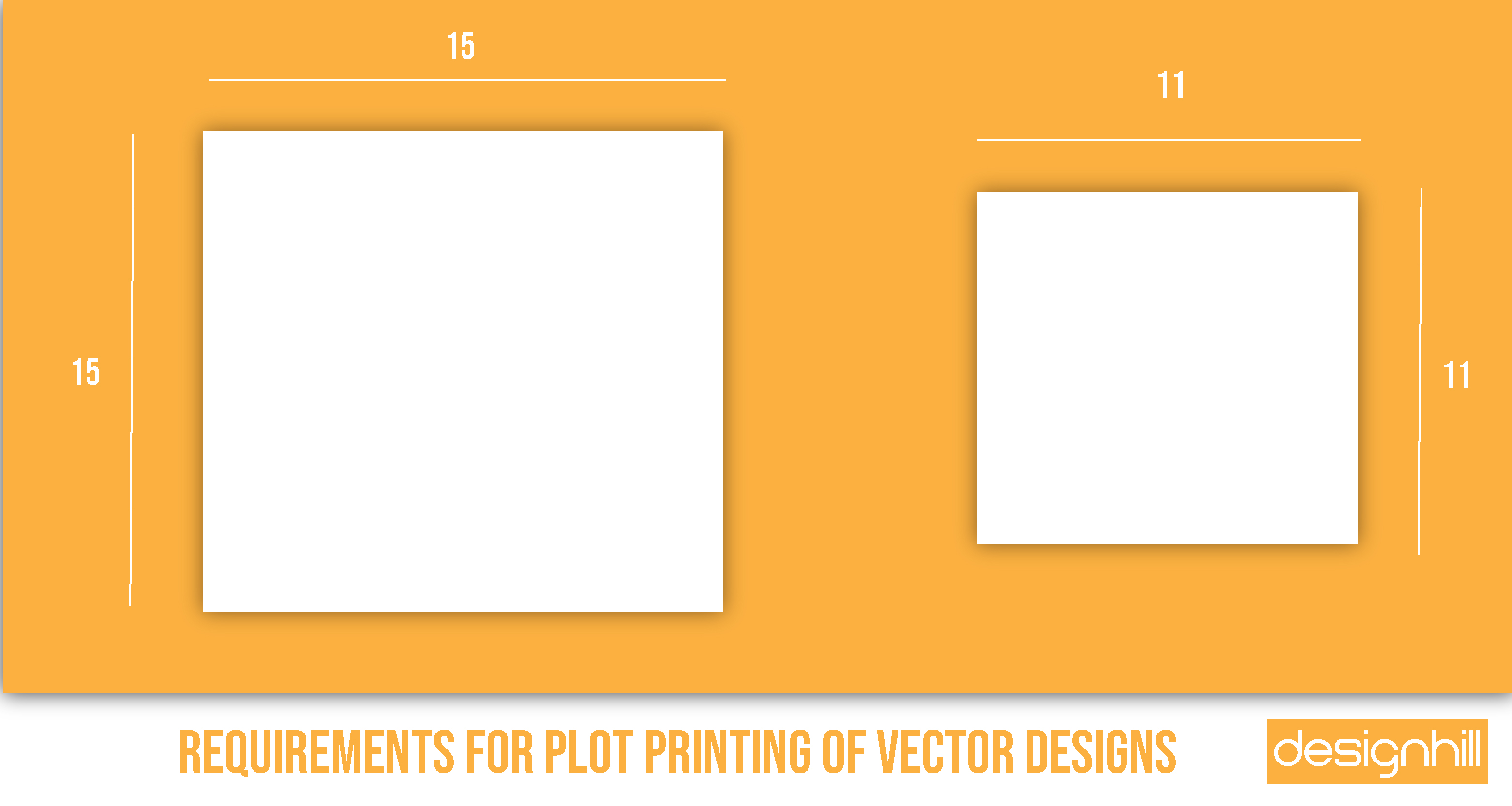 Requirements For Plot Printing Of Vector Designs