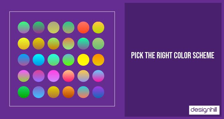 Pick The Right Color Scheme