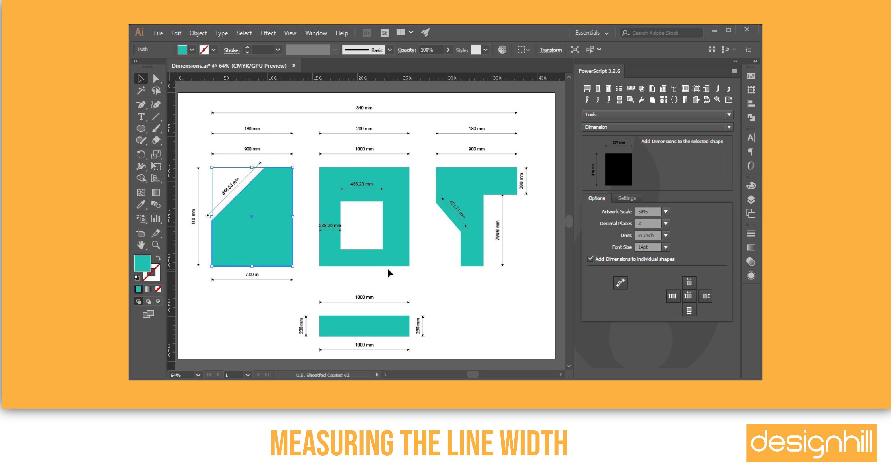 Measuring The Line Width