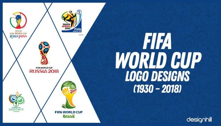 4067d4427 FIFA World Cup Logo Designs 1930 - 2018