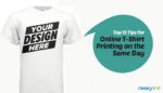 Online T-Shirt Printing