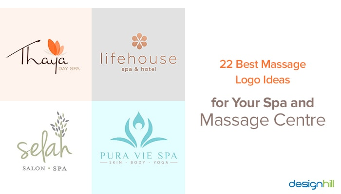 22 Best Massage Logo Ideas For Your Spa And Massage
