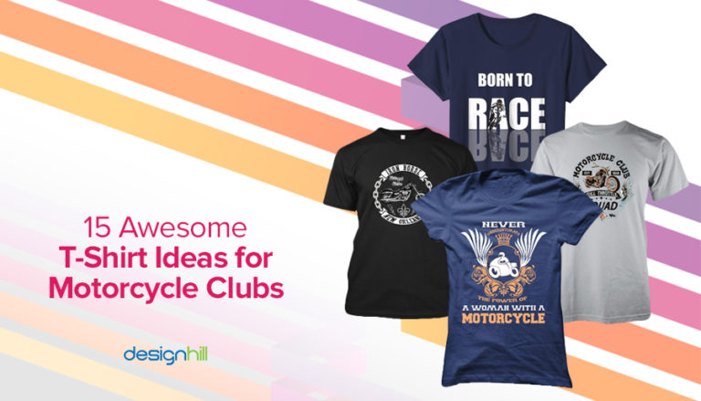 15 Awesome T Shirt Ideas For Motorcycle Clubs