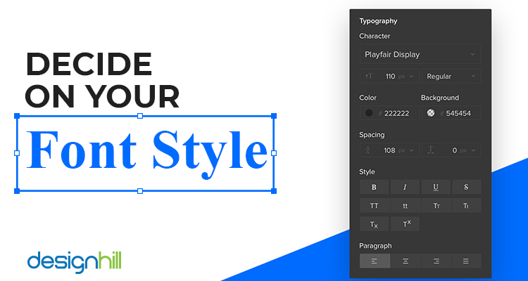 Decide On Your Font Style