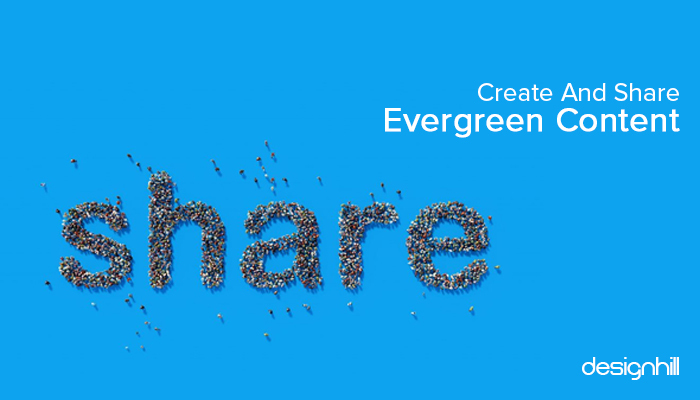 Create And Share Evergreen Content