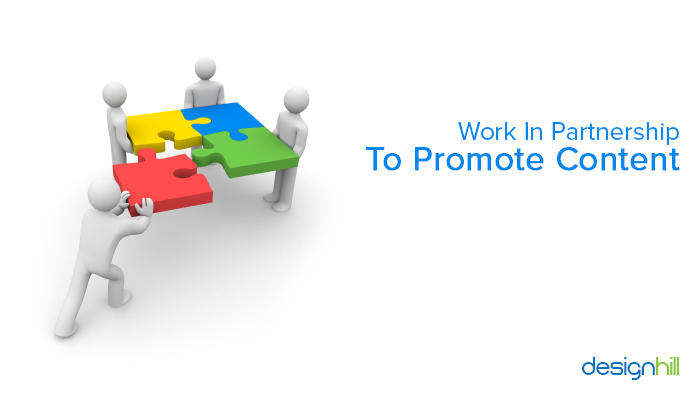 Work In Partnership To Promote Content
