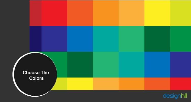 Choose The Colors