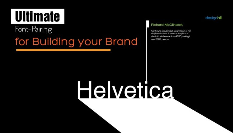 Ultimate Font-Pairing For Building Your Brand
