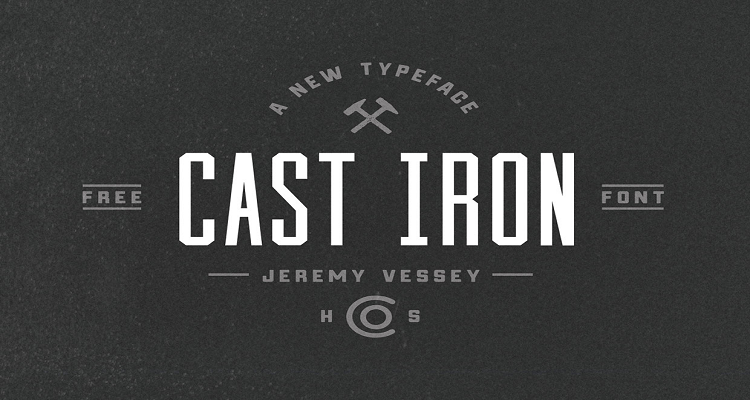 Cast Iron Logo Font