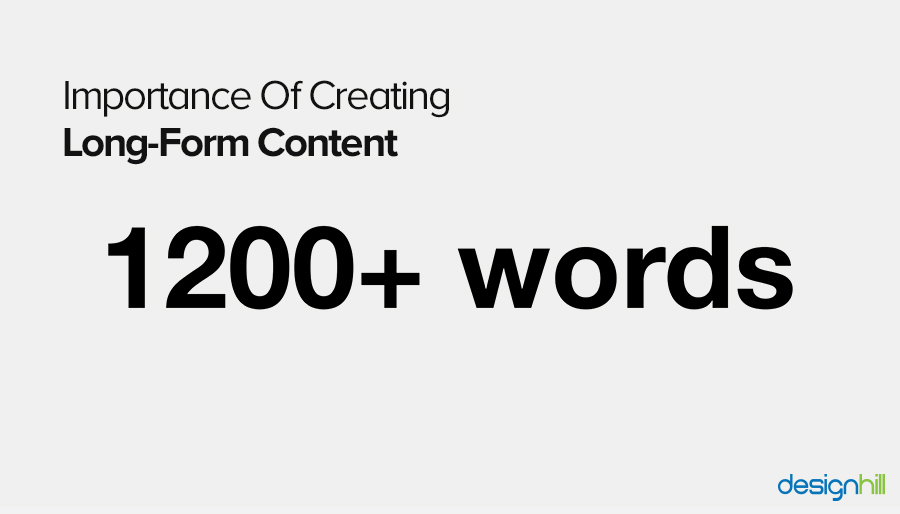 Creating Long Form Content
