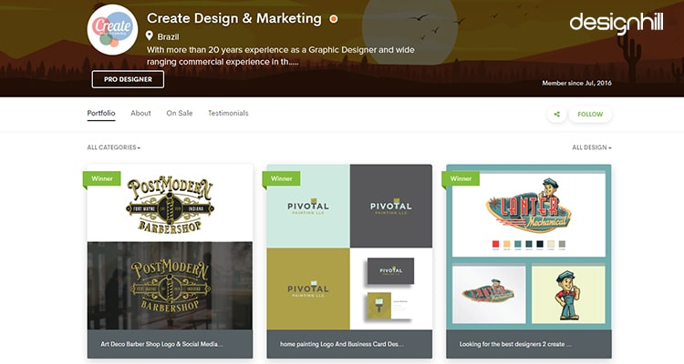 Create Design & Marketing