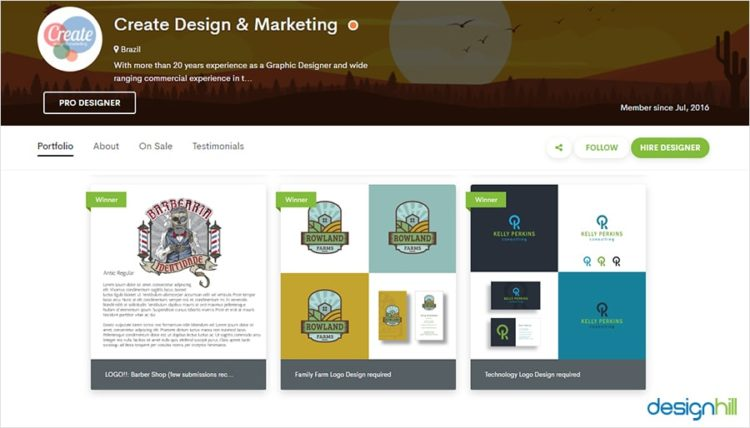 Create Design & Marketing