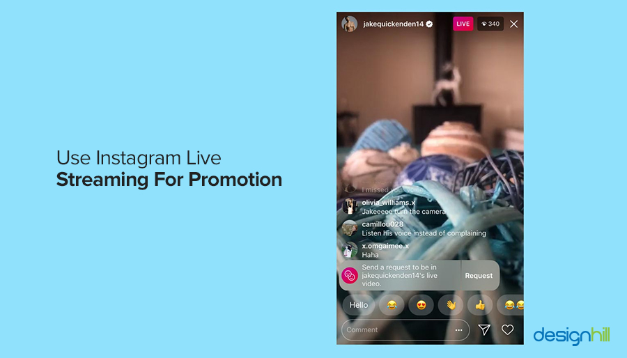 Use Instagram Live Streaming